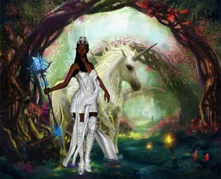 Artistic Rendition - Monica Rose & Prince Charm Inc. - a Faery Tale Rock Opera