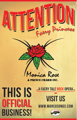 Monica Rose & Prince Charm Inc. Rock Opera - Poster